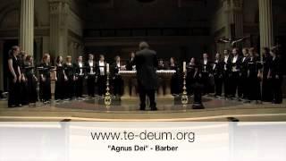Barber - Agnus Dei - Te Deum Chamber Choir