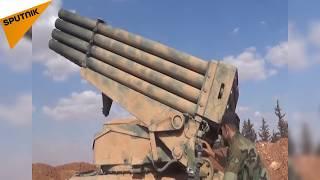 بالفيديو...القوات السورية تتقدم في ريف حماة والهدف مطار أبو الضهور