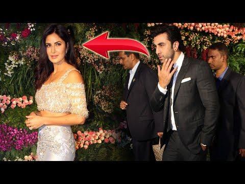 OMG! Katrina Kaif IGNORE Ex  Ranbir Kapoor At Virat Kohli And Anushka Sharma's Wedding Reception