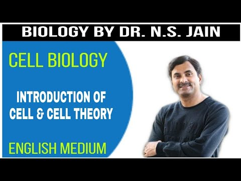 Introduction of Cell & Cell Theory (Cell Biology) 11th+NEET|English Medium