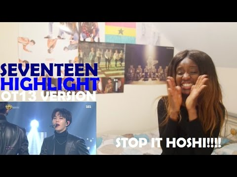 SEVENTEEN (세븐틴) - HIGHLIGHT OT13 VER. Live Stage REACTION