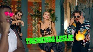 Tremenda Colaboracion 🔥🔥- Faldita - Leslie Shaw , Mau Y Ricky Reaccion Ceskel