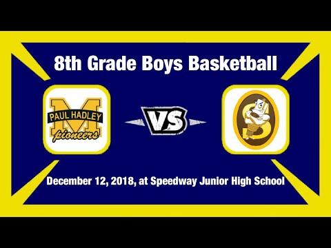 PHMS vs Speedway Junior High School