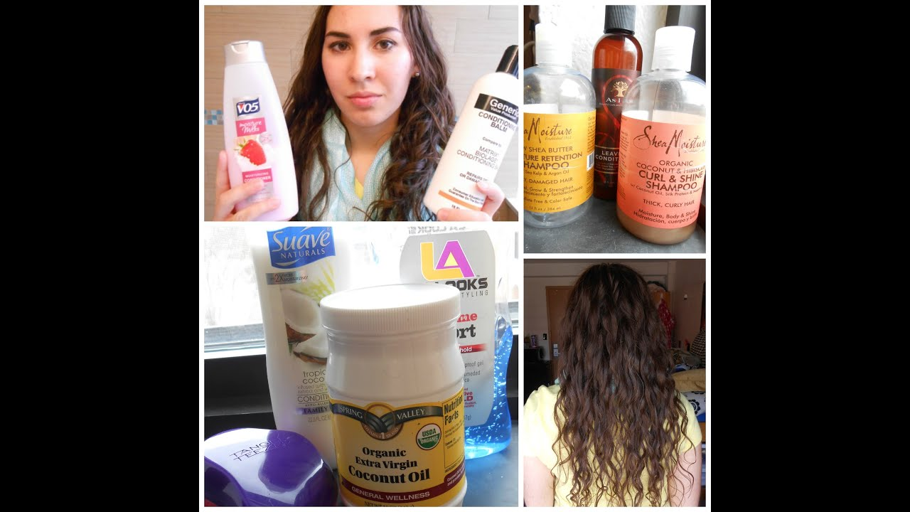 All Star Curly Hair Products Cg Method Youtube