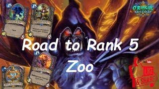 Hearthstone: Road to Rank 5 - Zoo Warlock #1: Rastakhan