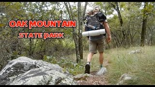 Hiking in Oak Mountain State Park