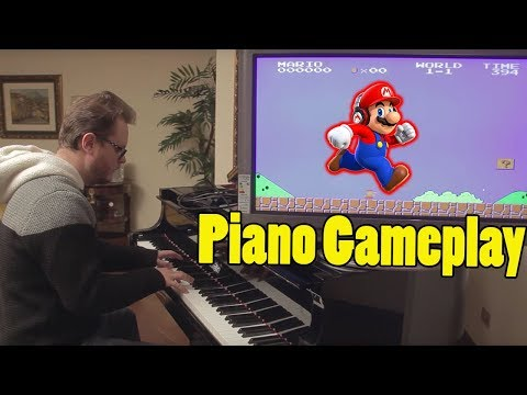 Super Mario on Piano With Sound Effects