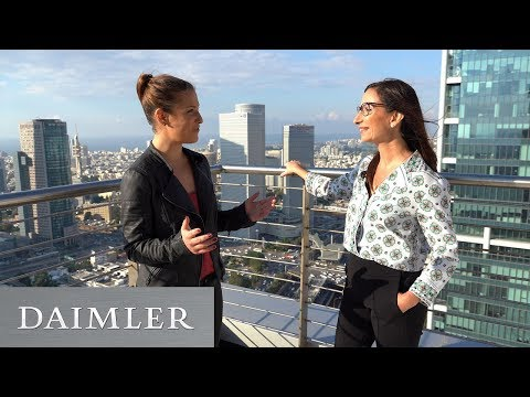 Interview About Mercedes-Benz Tech Center In Tel Aviv | HeadLights - Daimler Podcast