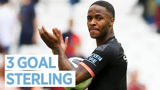 RAHEEM STERLING POST MATCH | WEST HAM 0-5 MAN CITY