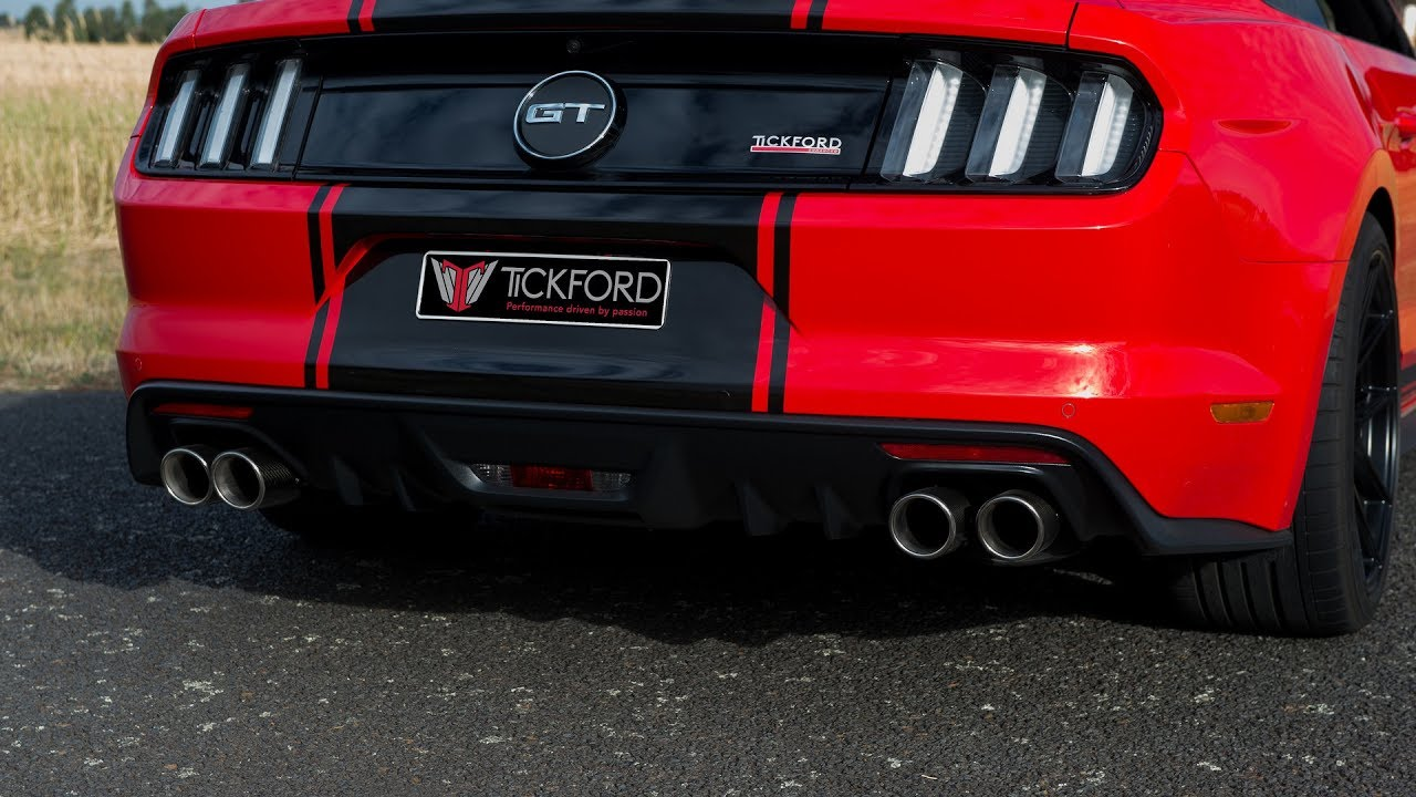 Ford mustang gt exhaust types all sounds part 1