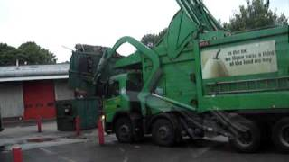 Refuse lorry swallows about 1.5 tonnes of 8x4 roofing sheet, felt and shingle