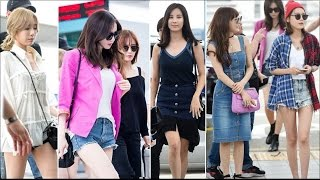 [1080p] 160715 [SNSD] - Incheon Airport to Japan SMTOWN in Osaka (2)