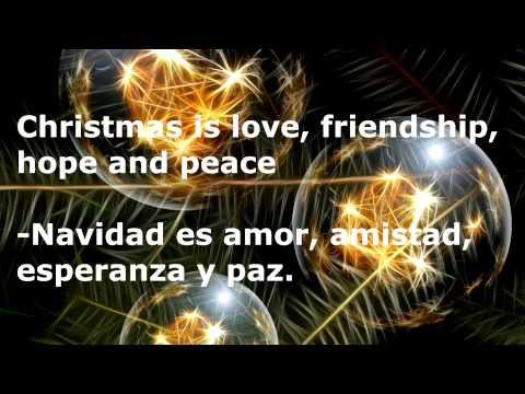 Tarjetas De Navidad En Ingles