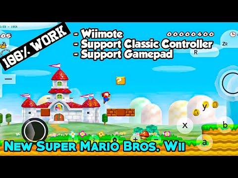 Cara Main New Super Mario Bros Wii Menggunakan Classic Controller