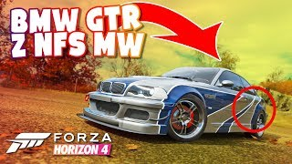 FORZA HORIZON 4 - BMW M3 GTR Z NFS MOST WANTED!