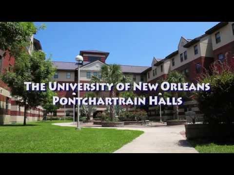 University of New Orleans - Pontchartrain Hall Tour