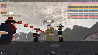 "Roblox - The Royal British army Part #2 ""Im trainer?"""