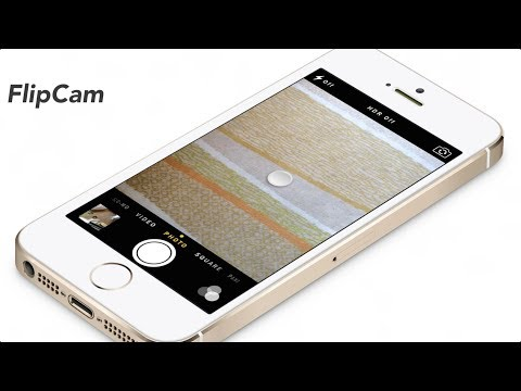 FlipCam: easily switch between the rear and front-facing camera