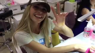 Анна Хилькевич в салоне Selfie на Ломоносовском