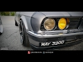 BMW E30 Stance Camouflage Wrapped - The Outsiders 2017