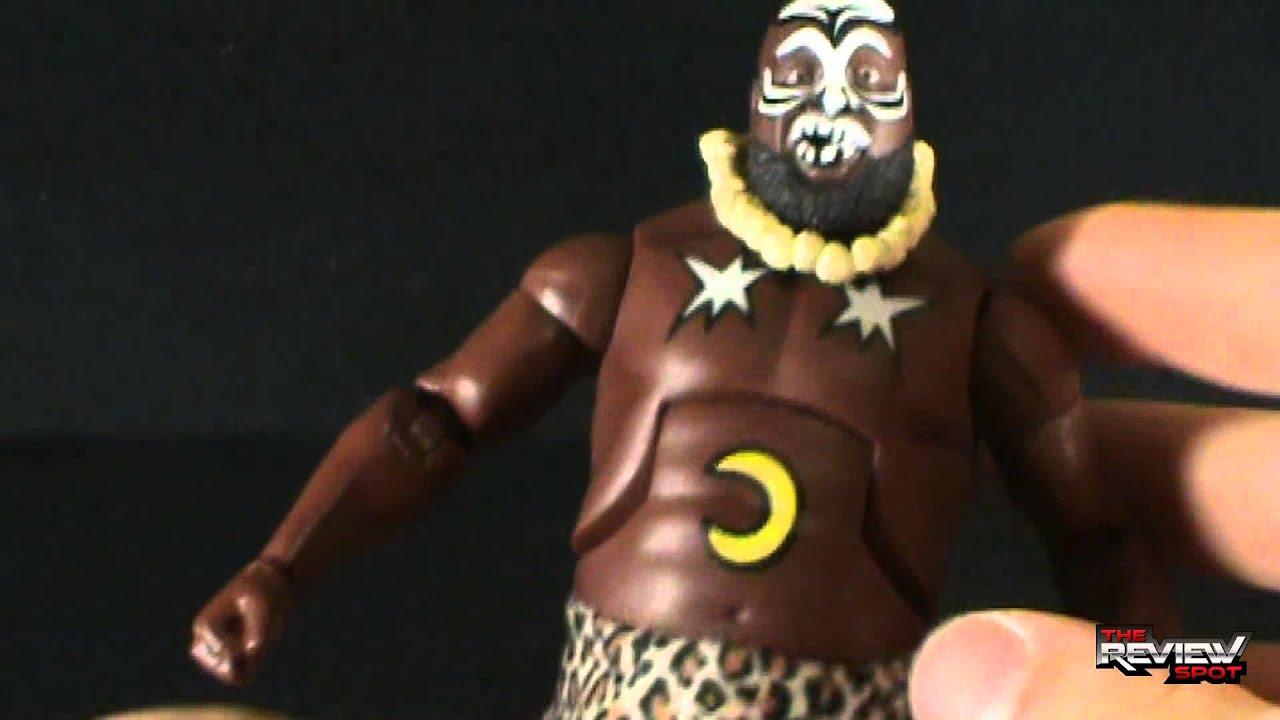 Toy Spot - Mattel WWE Legends Series 2 Kamala - YouTube