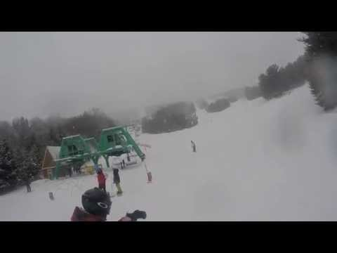 Elk Mountain Skiing - Schuykill, Mahican - March 1st 2015
