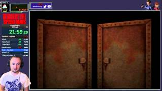 [WR] Jill Any% Biohazard 1 (PS1) - 1:01:38  (Glitchless)