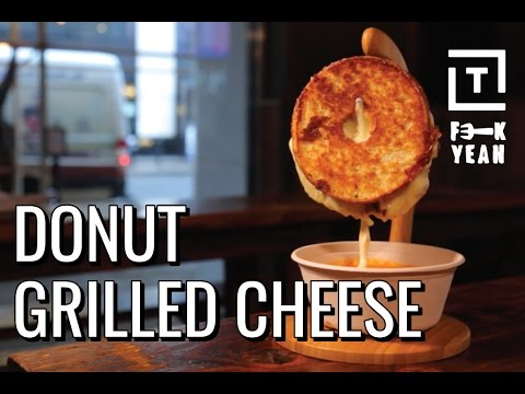 Grilled Cheese Donuts Are Delicious  || Fork Yeah Flamin