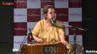 Munni Begum | Dil ki baat labo par laa kar ab tak hum dukh sehte hain | Rekhta Studio