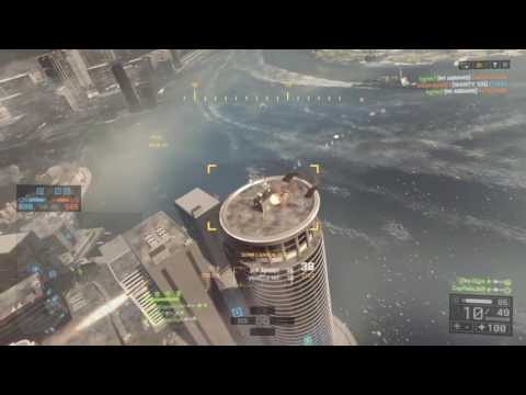 Battlefield 4 [PS4] 160 Killstreak Attack Helicopter Siege Of Shanghai