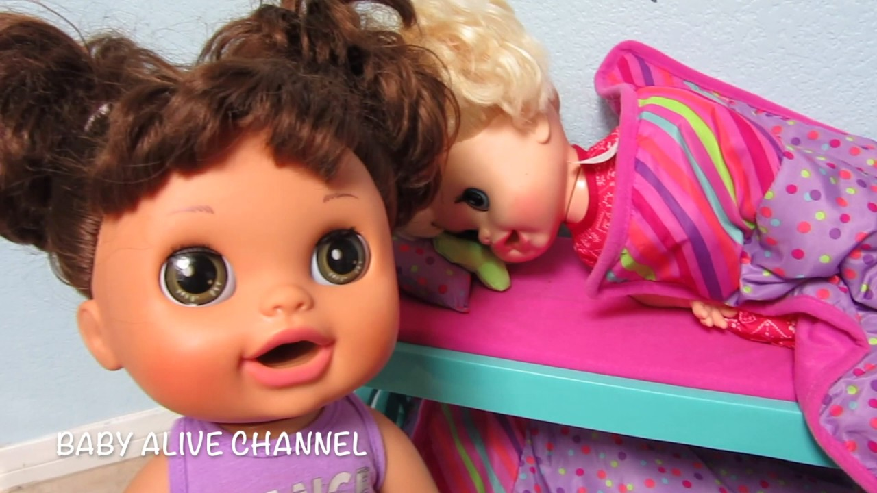 Baby Alive Real Surprises Doll Sophie Fakes Sick From