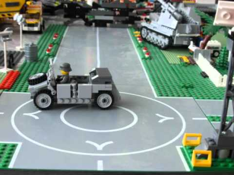 Lego German Army Airport - YouTube