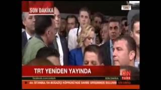 15 Temmuz 2016, Askeri Darbe Kalkışması Gecesi, TRT'nin Geri Alınması