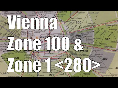 Vienna City (100) and Airport Schwechat (280) Zones Explained