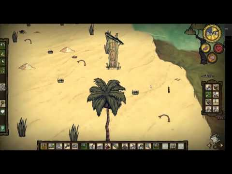 Don't Starve Shipwrecked | How to Kill the Mad Coconut Tree!