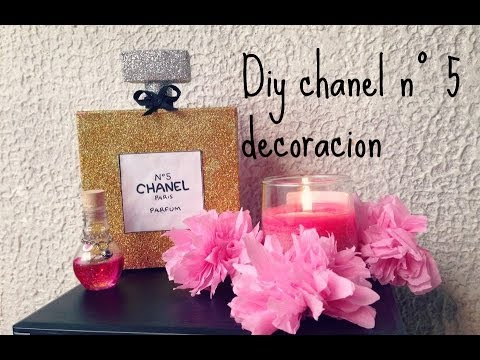 diy botella chanel n decoracin