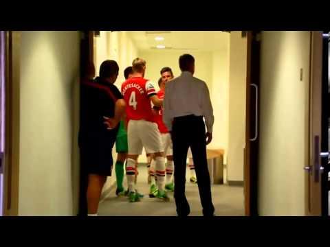 Arsenal vs Tottenham 1-0 (13/14) Derby day