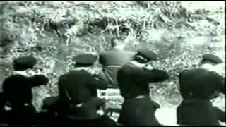 Repeat youtube video Fucilazione dell'ex questore fascista di Roma Pietro Caruso, Roma, 22 settembre 1944