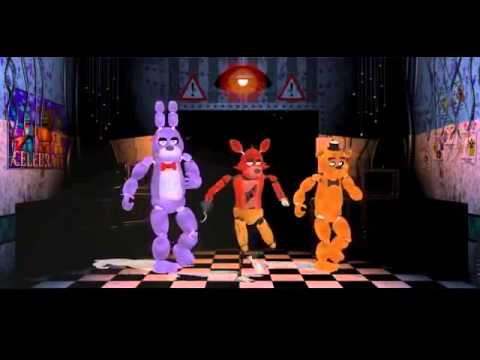 FNAF MMD Everyday I'm Shufflin