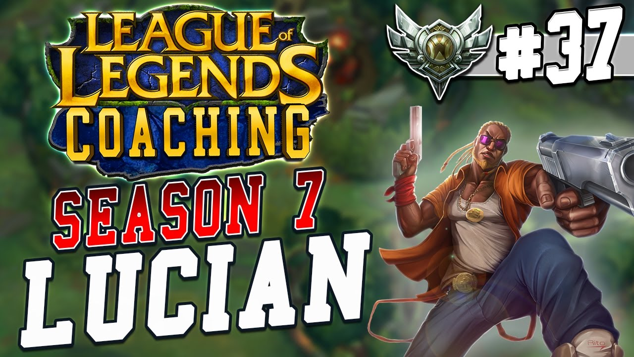 S7 LoL Coaching #37 - Lucian ADC (Silver 5)