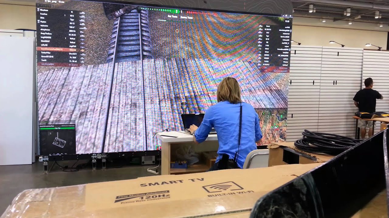 Large Monitor Setup For Wot Youtube