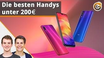 Die besten Handys unter 200 Euro: Unsere Testsieger 2019