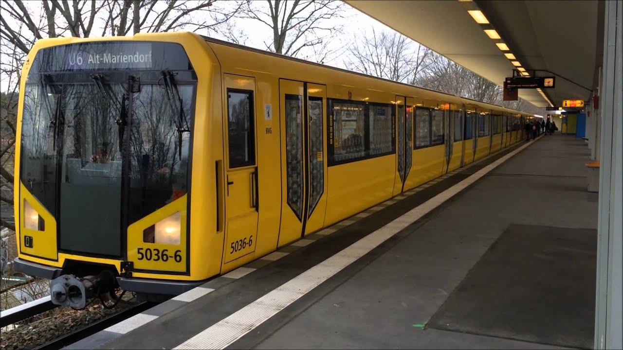 U6 H01 5036 Ein und Ausfahrt Otisstraße BVG U Bahn Berlin ...