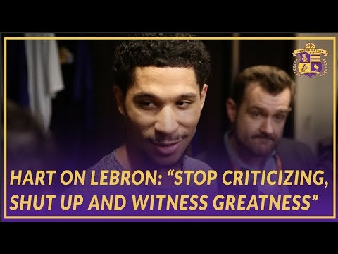 """Lakers Post Game: Josh Hart Says """"Stop Criticizing,  Shut Up and Witness Greatness"""""""
