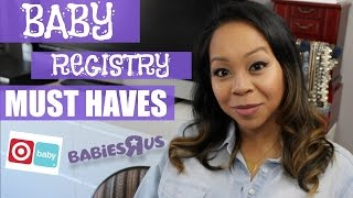 BABY REGISTRY MUST HAVES | What