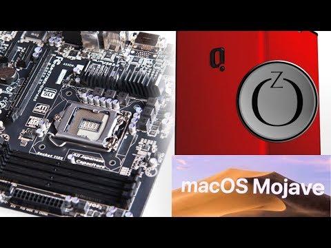 Hackintosh  Z77MX-QUO-AOS Bios Ozmosis MacOS Mojave Intel HD4000
