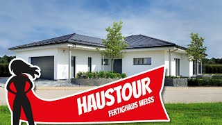Haustour: Moderner Bungalow für barrierefreies Wohnen von Fertighaus Weiss   Hausbau Helden