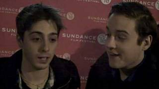 "Gambar cover Sundance 2010: On the red carpet with Matt Bush and Sean Marquette of ""HIGH School"""