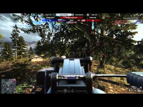 Battlefield 4 - Watching A Hacker In Spectator Mode