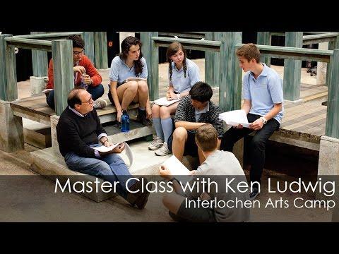 Ken Ludwig: High School Repertory Theatre Master Class